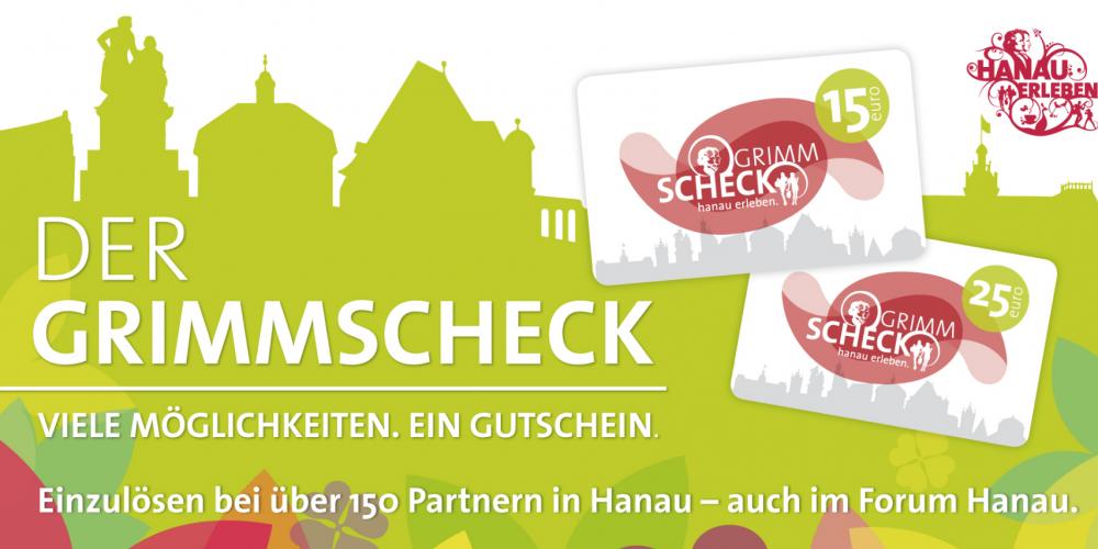 Monatsgewinnspiel August 2020: Gewinnen Sie 3 x 15 Euro Grimmscheck Einkaufsgutscheine!