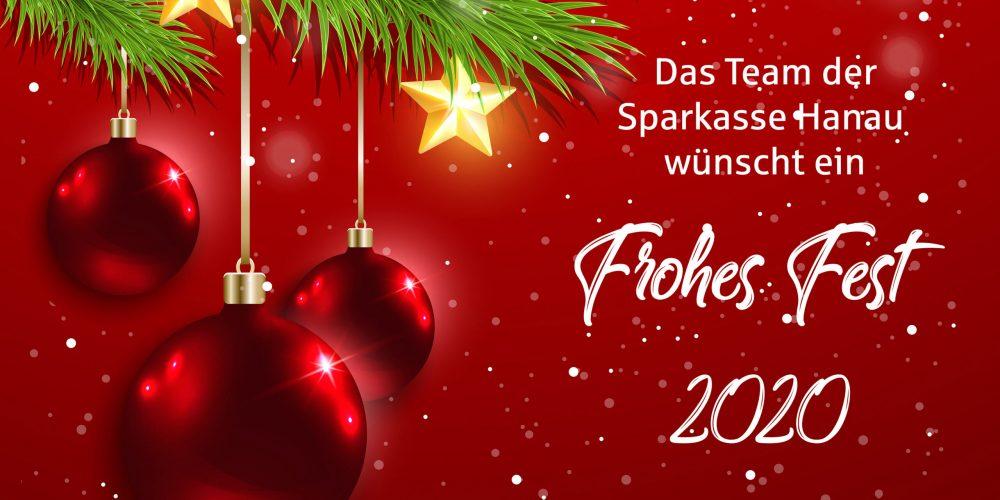 Frohes Fest – Das Weihnachtsvideo der Sparkasse Hanau